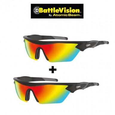 Battle Vision Glasses - set of 2 polarized sport sunglasses