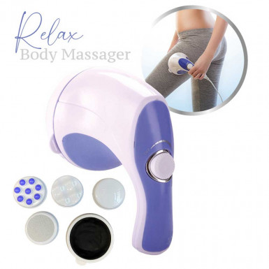 Relax Body Massager - whole body electric massage device with anti-cellulite effect