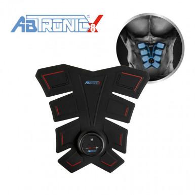 ABtronic X8 - dispozitiv pentru antrenamentul intregii zone abdominale cu tehnologie E.M.S.