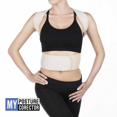 My Posture Corector - corset corector de postura pentru spate ajustabil cu 12 magneti activi