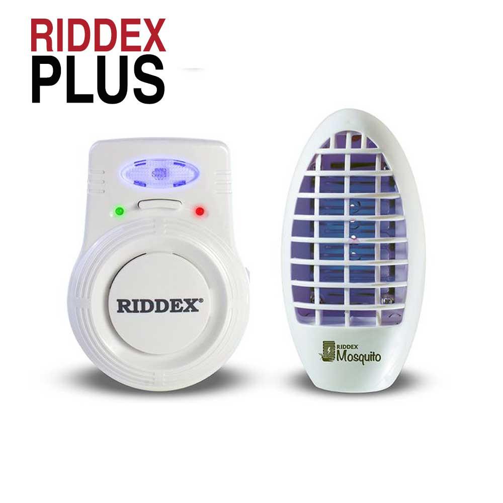 Riddex Plus - pachet 2 dispozitive impotriva daunatorilor si insectelor