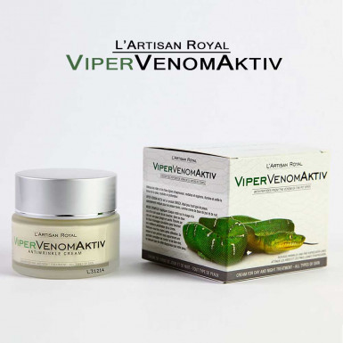 ViperVenomAktiv - facial anti-wrinkle cream with synthetic snake venom