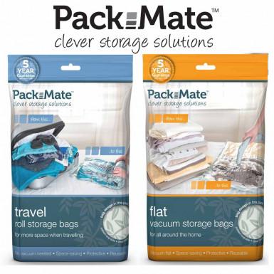 PackMate Vacuum Storage Bags - set de 6 pungi de depozitare in vid