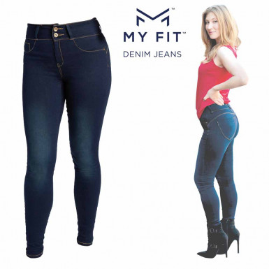 My Fit Jeans - bluji super elastici pentru femei